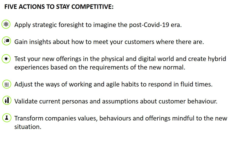 5 actions to stay competitive