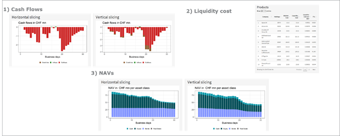 Basing liquidity strategy decisions
